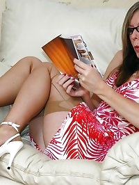 dildo catalogue turn on for stocking milf