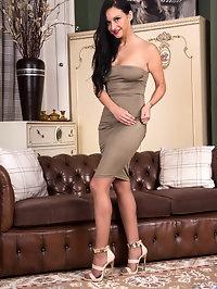 European hottie Cassie Clarke is aging gracefully as she..
