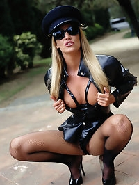Naughty horny chicks love to dress up and play with cocks