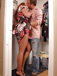 Alluring tramp in pantyhose gets tough drilling