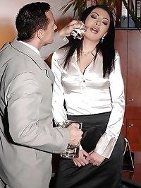Hot Samy Omidee spanked & exploited