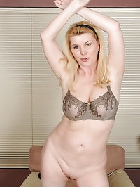Unbelievably beautiful 51 year old Venice poses and..