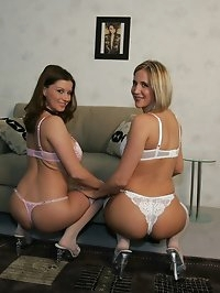 Desirae and Hot Busty Girlfriend Sara part 1