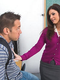 India Summer & Johnny Castle in My First Sex Teacher
