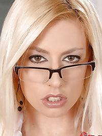 Sexy Jessie Volt is teachers pet