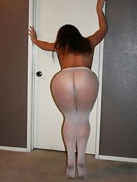 Vixen looks lovely in white pantyhose